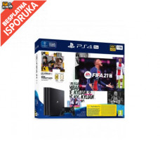 PLAYSTATION PS4 1TB PRO G chassis + FIFA 21