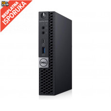 DELL OptiPlex 5070 Micro i5-9500T 16GB 256GB SSD NoODD Win10Pro (DES08335)