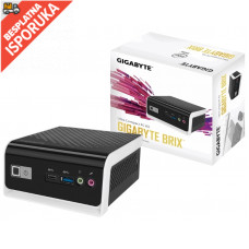 GIGABYTE GB-BLCE-4000C BRIX Mini PC Intel Dual Core N4000 1.1GHz (2.6 GHz)