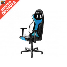 Sparco GRIP Gaming/office chair Black/Light Blue Sky
