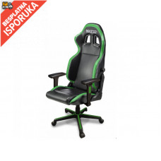 Sparco ICON Gaming/office chair Black/Fluo Green