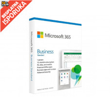 MICROSOFT 365 Business Standard Ret Eng Sub1YR CEE Only Mdls P6 (KLQ-00501)