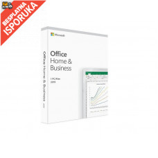 MICROSOFT Microsoft Office Home and Business 2019 English CEE Only Medialess P6 (T5D-03347)