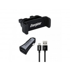 Energizer CARKIT 3.4A +Clip+Cable Micro-USB Nr