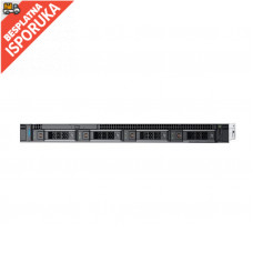 DELL PowerEdge R340 Xeon E-2224 4C 16GB H330 600GB SAS 350W (1+1) 3yr NBD + Sine za Rack + Broadcom 5719 QP 1GbE