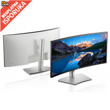 "DELL 34"" U3421WE WQHD USB-C UltraSharp zakrivljeni IPS monitor"